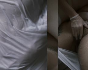 Art Porn - Lesbians Water Split