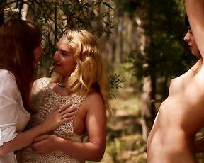 Lesbian Orgies in Nature