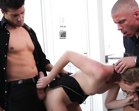 Two Dudes vs. One Girl - Mainsream Sex Video