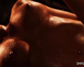 Oiled Couples Close Up 2