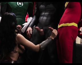 Best Adult Parody - Justice League - XXX Movie