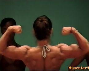 Muscle Tomoko Kanda asian fbb