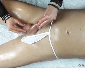Sensuous Jasmine- Tantric Lingam Massage #2- Arm Job - Glad ending - Erotic