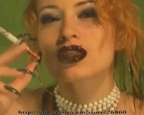 Kira Star Erotic Smoking