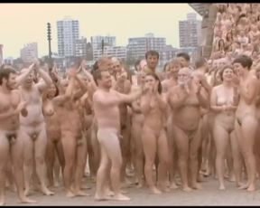 BARE BODIES AS ART ~ OVER 5000 MEN & GIRLS UNWRAP OFF FOR THE CAMERA -(©¿©)-