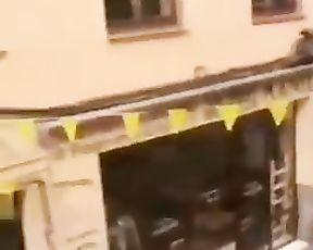 Io Sto a Casa 'pompino Sul Balcono' Con La Mia Raga