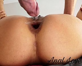 SEX FIRM MY ASS IN SILENCE, DADDY AND MUMMY ARE NEXT DOOR - Anal Lover 4K