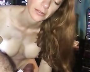 Crazy Wifey Tells Story of Fuck with Ex while Fuckng