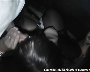 Slutwife visits the local Adult Theater