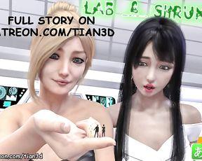 A Giantess Story - Shrink & Lab