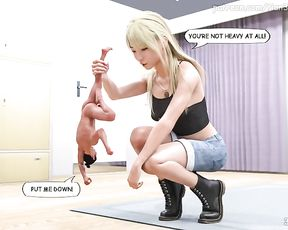 The Game Part three GIANTESS STORY