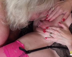 OldNannY Damsel-On-Chick Mature Cicks Adult Fun Movie