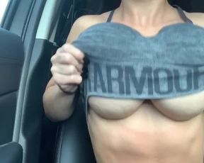 Car Ride with MissLexa | OnlyFans/Snapchat Clips