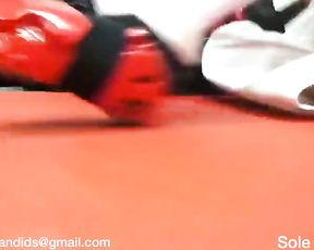 Candid Teenage Martial Arts Nude Feet