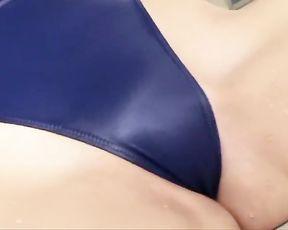 Supah-Fabulous G-String Bathing Suit Blue REALISE [ Softcore ]