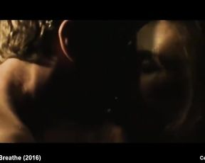 Celebrity Dark-Skinned-Haired Natalia Warner Nude And Romantic Sex Intercourse Vignettes