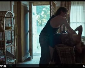 Emily Meade Sans Hooter-Sling and Erotic Undergarments Movie Vignettes