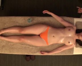 JAV Star Asahi Mizuno CMNF Glamour Oil Massage Subtitled