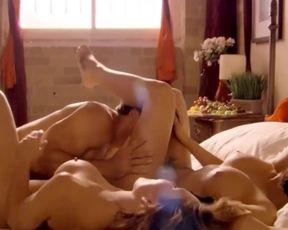 Softcore Porno Industry Starlets Jennifer Korbin & Lana Tailor trio Way Hookup Intercourse Episode - Lingerie