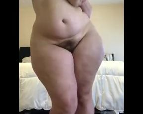 Sex Intercourse PLUS-SIZE Trys on Undergarments Free new on Porno Vid three