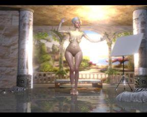Knocked Up Dora Art. Funny Nude Dance in Egypt Sextour.