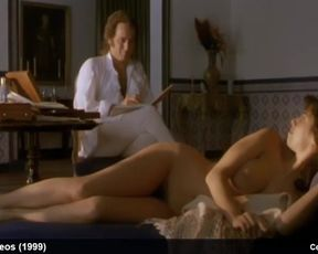 Maribel Verdu Frontal Naked and Glamour Movie Scenes