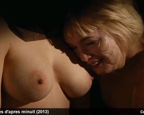 Fabienne Babe, Julie Bremond & Kate Moran Naked-Chested and Softcore Video Gigs