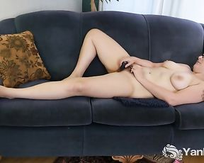 Humungous-Chested Blue Frolicking Her Fur Covered Gash