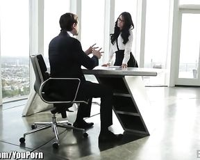 EroticaX Megan Rain Jism Licks The Boss