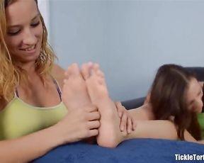 Tickling Gentle Sex Feet