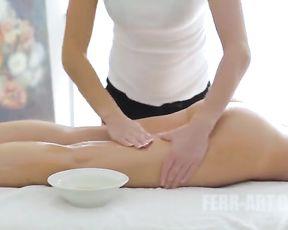 Vibing MILF Real Girly-Dame Teen Massage