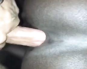 Dark-Hued Girl Dicked down by Giant White 8.5 Inch Aka Dirk Diggler