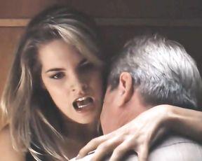 Bridgette Wilson - Succulent Evil - Sex Intercourse Episode Vid - Rock-Hard Hump Intercourse - Scretary vs Chief