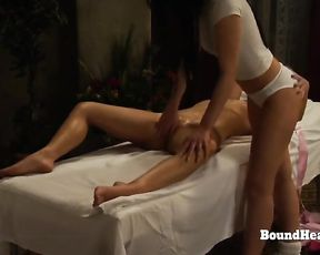 The Conformity of Sophie: Softcore Massage With Enslaved Slave