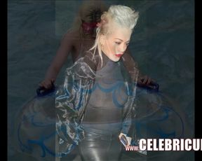 Rita Ora Naked Dark-Hued Celeb Hotness