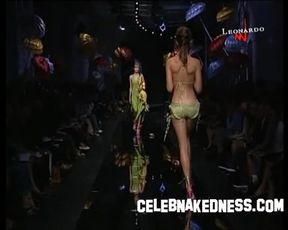 Celebnakedness models naked on the runway and seethroughs 26