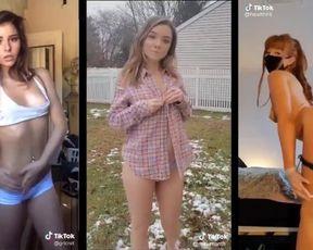 Ultra-Kinky TIK TOK First-Timer Girls Compilation