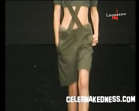 Celebnakedness models bare on the runway and seethroughs 7