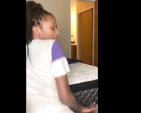 Gorgeous Ebony Messy Dancing