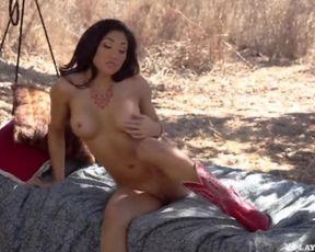 AJA MARIE bare playboy pornostar