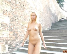 Nikky Bare in Public four