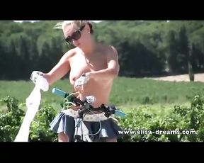 Bare in Public and Filthy Biking