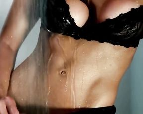 Celeste Muriega - Douche - Bare Celeb Model HD Erotic Photoshoot Prominent Gig