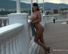 Naked in Public. Seafront
