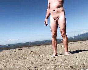 LITTLE SHAFT ON NAKED BEACH! PART four - FEMMES CHORTLING! WHERE'S HIS SHAFT? SPH CFNM