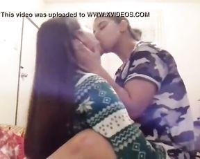 Hottest Indian Lesbos Smooching Hatch Blow highly Glamour Super-Steamy Gfs Hostel
