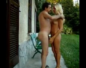 I and my step-brother playing nude outdoor