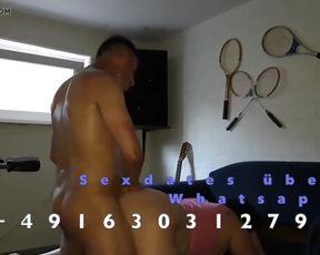 GEILE SAU VOM WILDEN HENGST REAR END HART GEFICKT