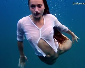 Highly First-Ever underwater erotic movie