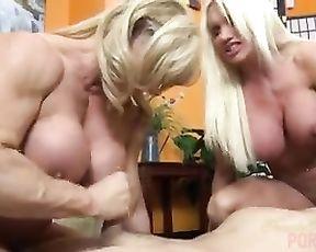 Naked Female Bodybuilders Hookup Up Fortunate Guy